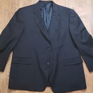 Blue Navy Pinstripe suit jacket in 42 xl or xxl